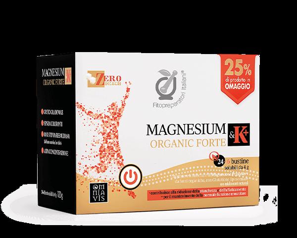 Immagine MAGNESIUM & K+ORGANIC FORTE 30 BST