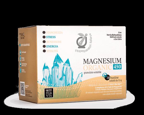 Immagine MAGNESIUM ORGANIC 450 30 BST