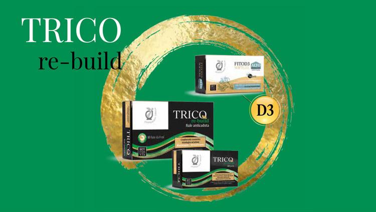 Linea Trico re-build caduta capelli
